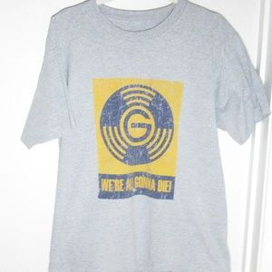 Shirts - Vintage We're All Gonna Die Dawes Band Tour Tee XL